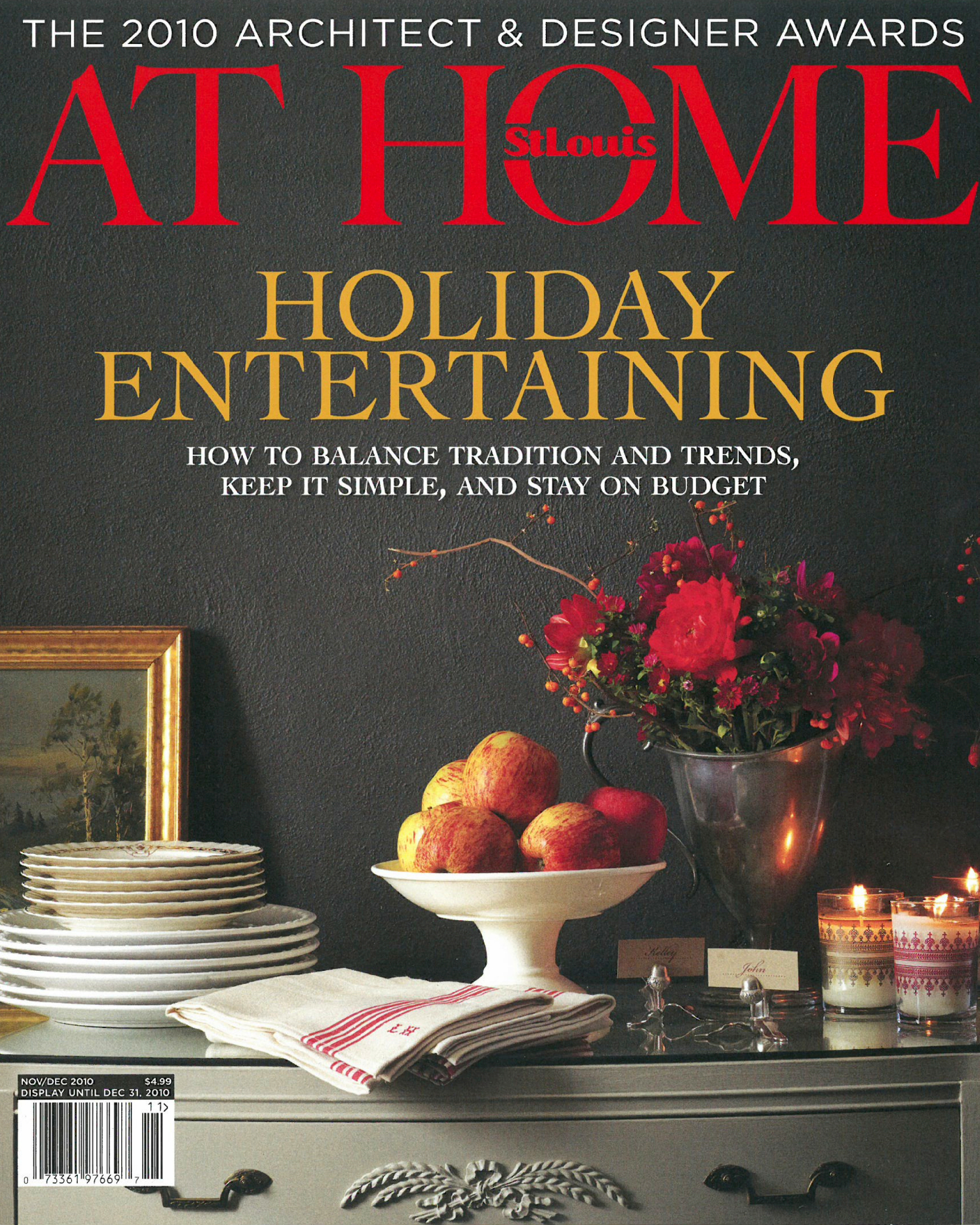 AT HOME // Winter 2010 - ADA Awards Feature 2010