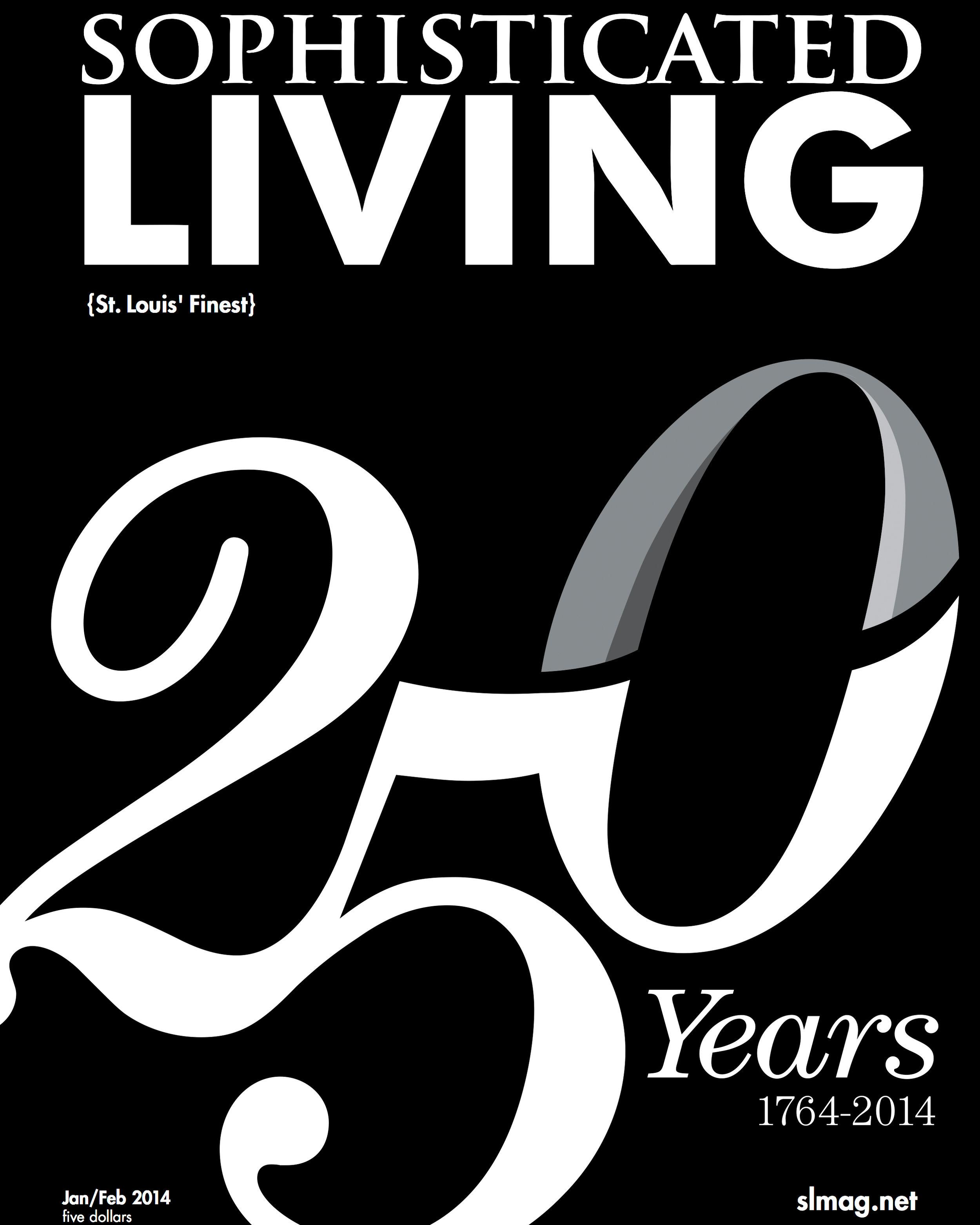 Soph. Living // Winter 2014 - Philip Slein Gallery Ad