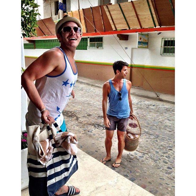 How time flies. Seven years ago in a Mexicoma with these three beautiful humans. . . . #mexicoma #timeflieswhenyourehavingfun #holaseñorita #pv2012 @stlholl @tetonbluebird @jacoblawsinteriordesign