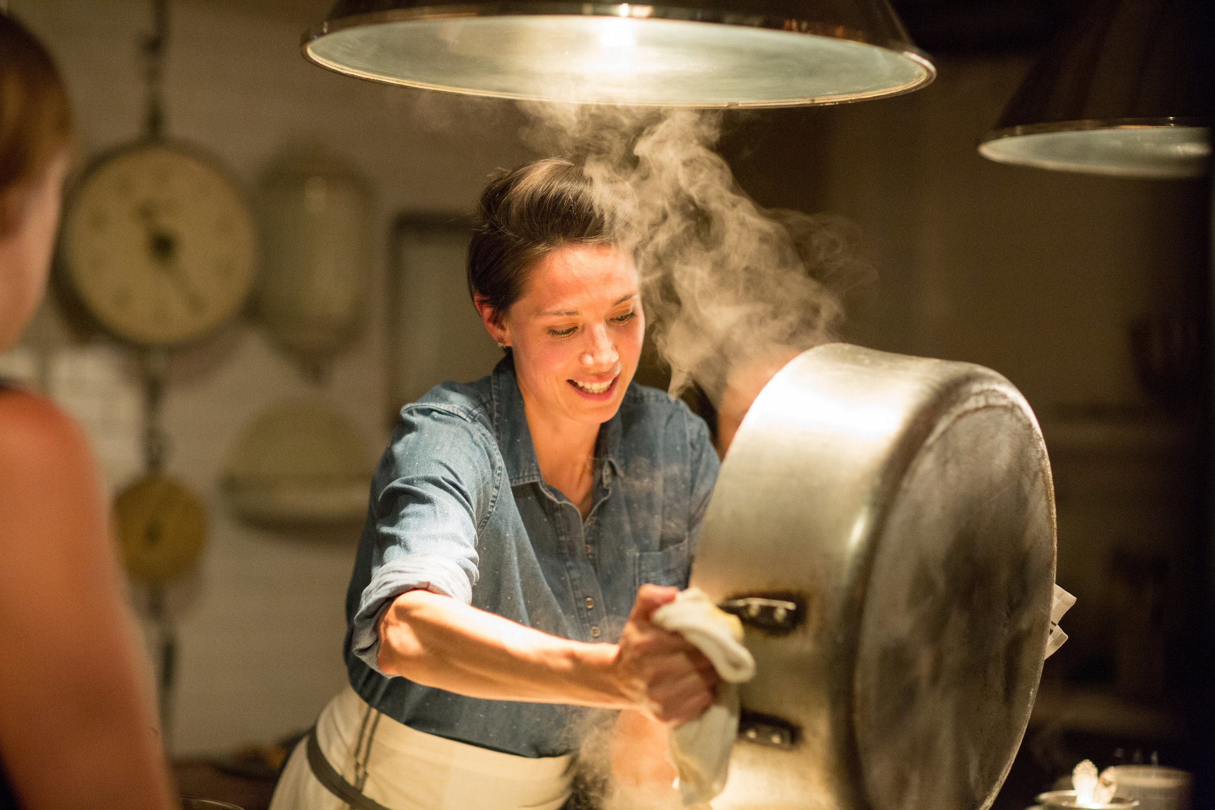 Alicia Pours Pasta.jpg