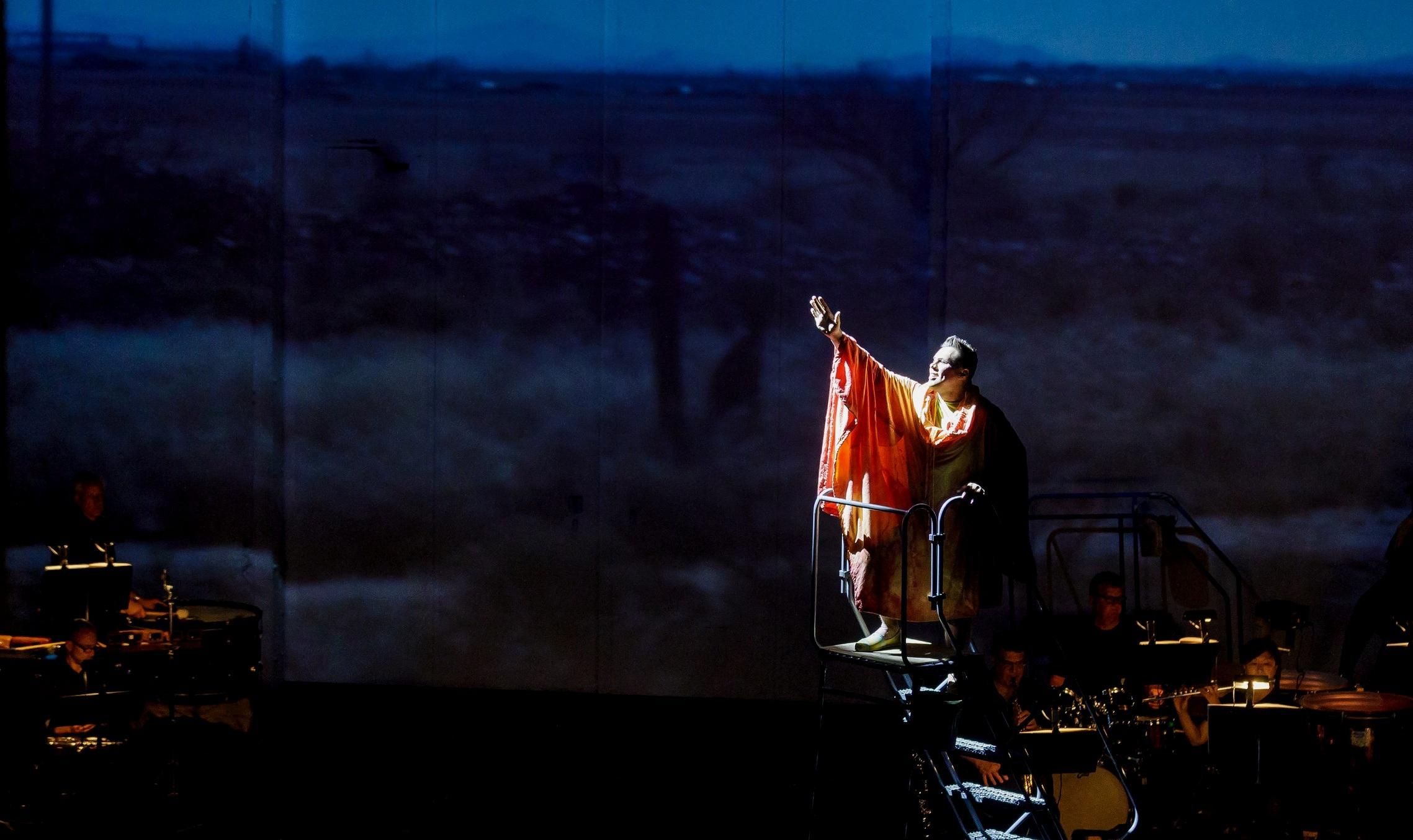 Hydrogen Jukebox  with Chautauqua Opera. Photo by Ron Heerkens Jr
