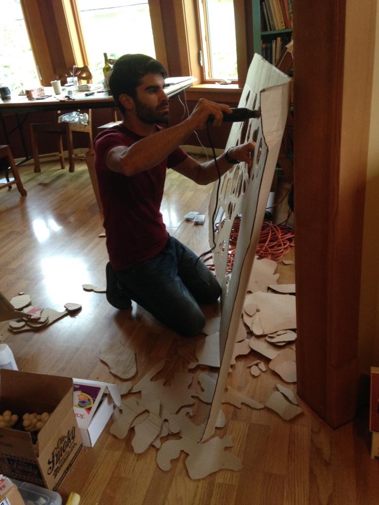 Alex dremels cardboard
