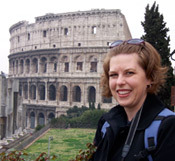 Angela K. Nickerson in Rome