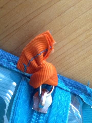 Zipper pulls replaced