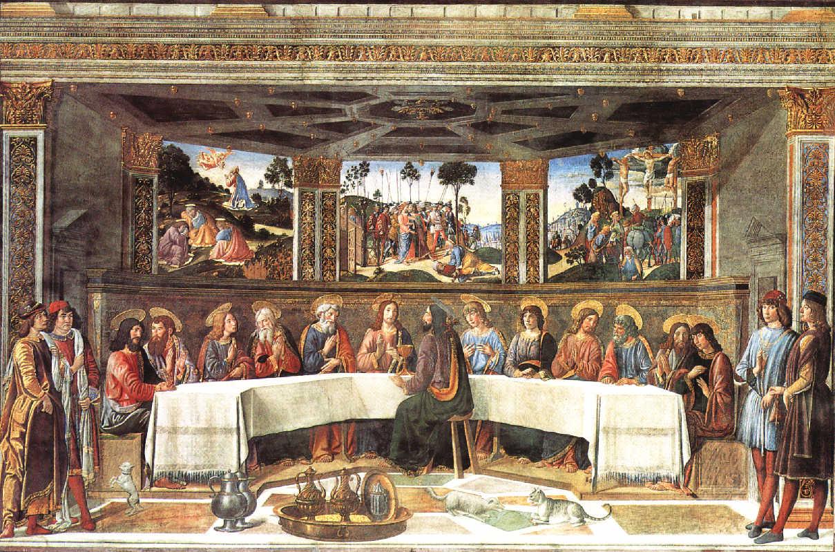 The Last Supper | Cosimo Roselli | The Sistine Chapel in the Vatican