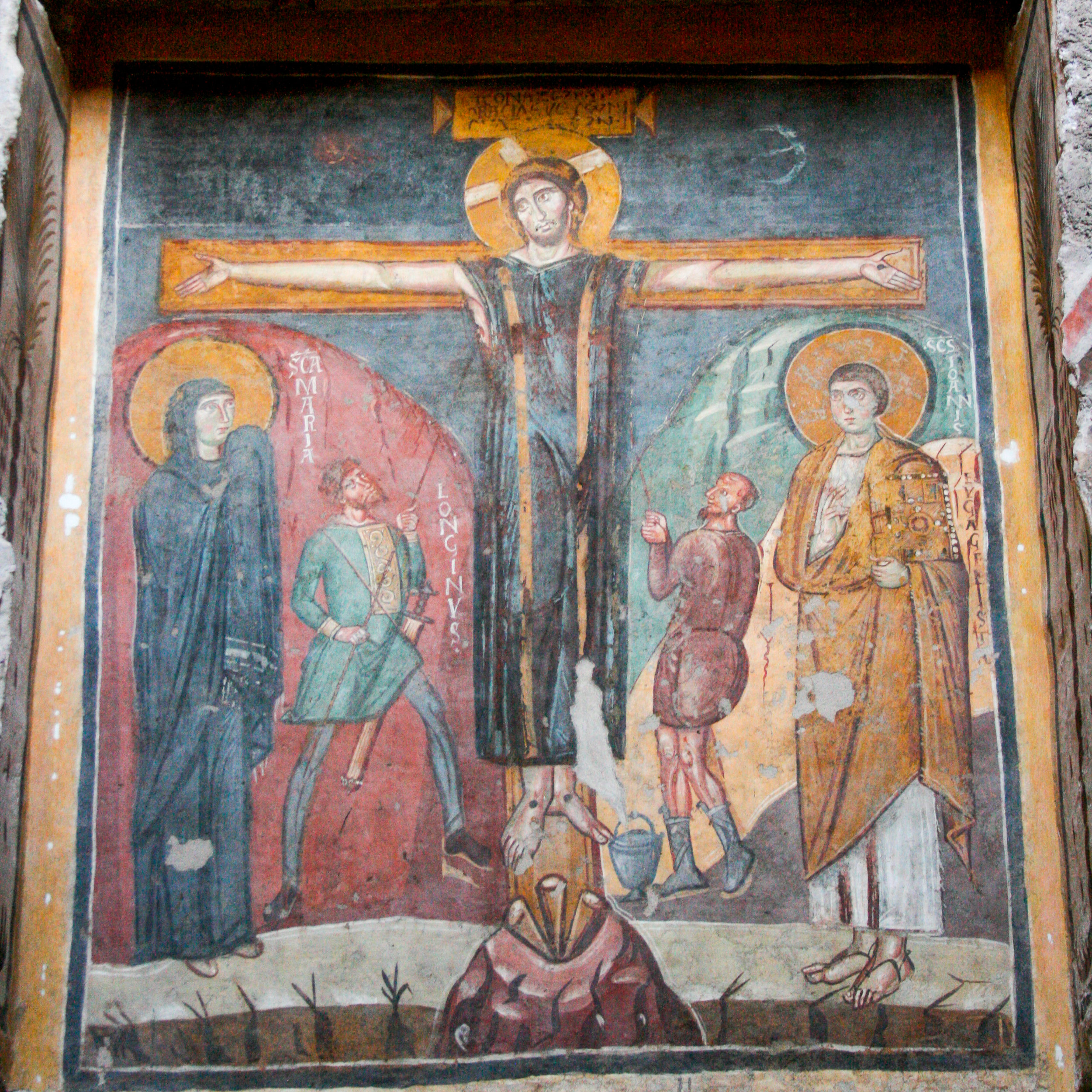 Crucifixion | Santa Maria Antiqua | Rome