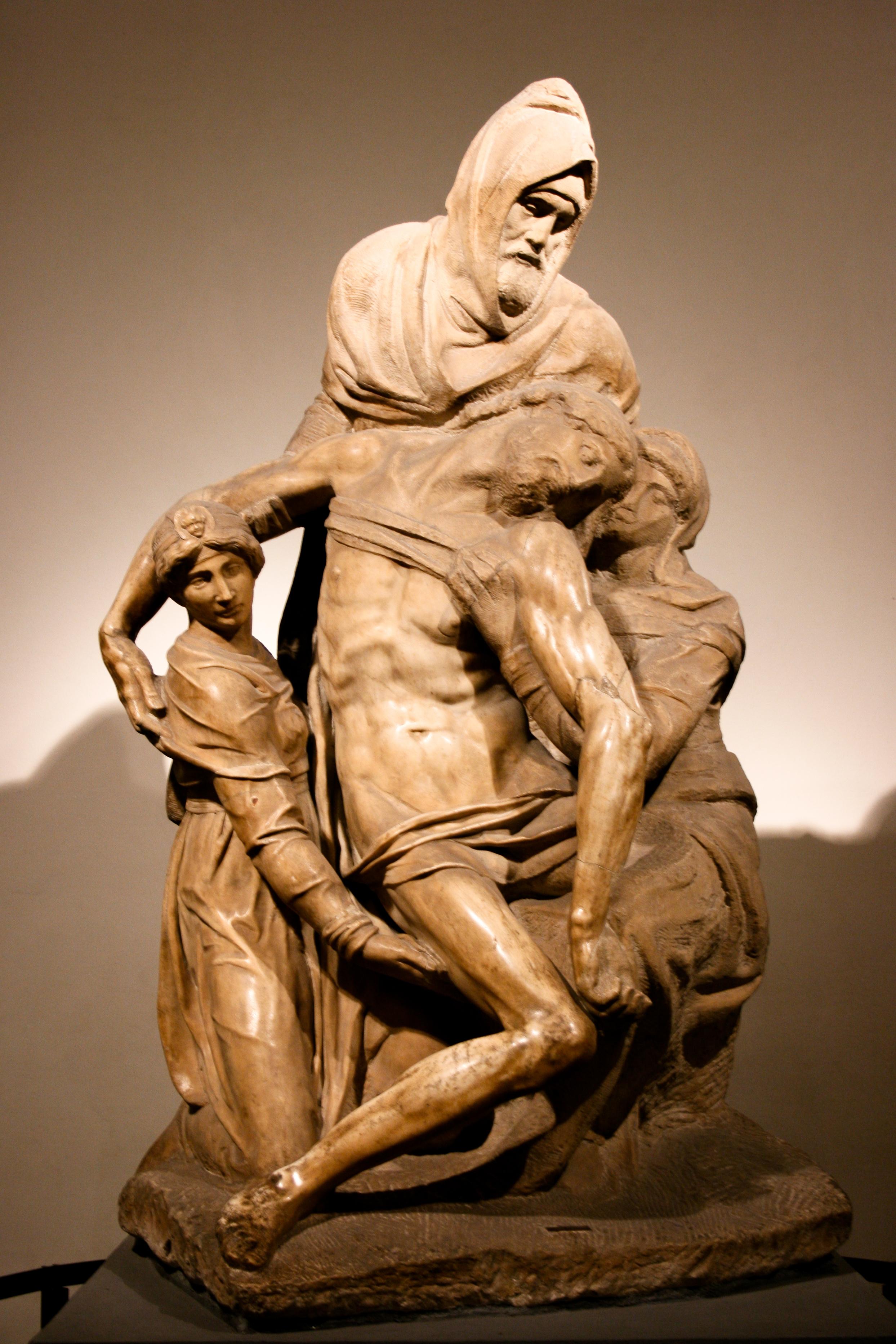The Florentine Pieta | Michelangelo Buonarroti | Opera del Duomo, Florence
