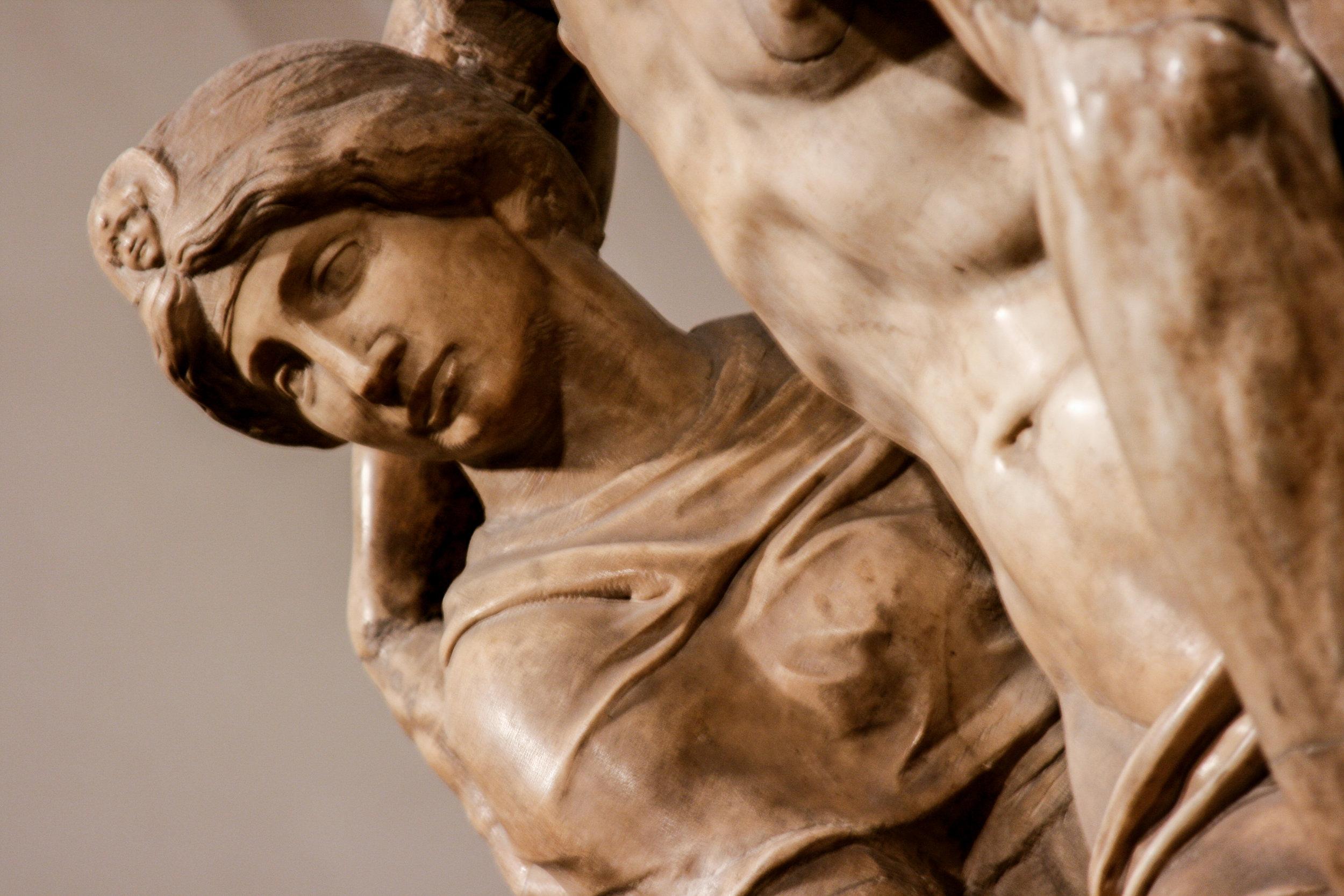 Portrait of Vittoria Colonna, Michelangelo's dear friend, as Mary Magdalene