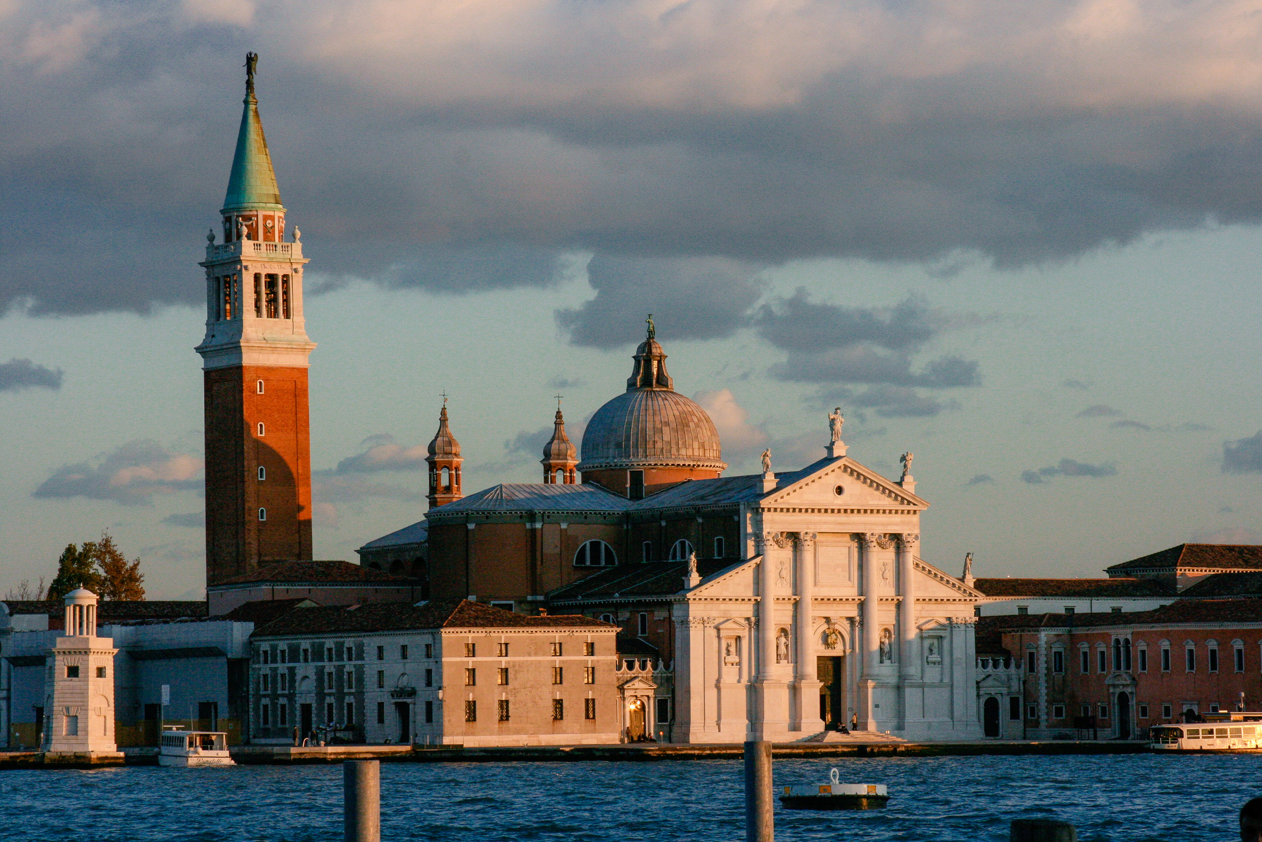 San Giorgio Maggiore is just a short vaporetto ride from San Marco, and the campanile is much more accessible.