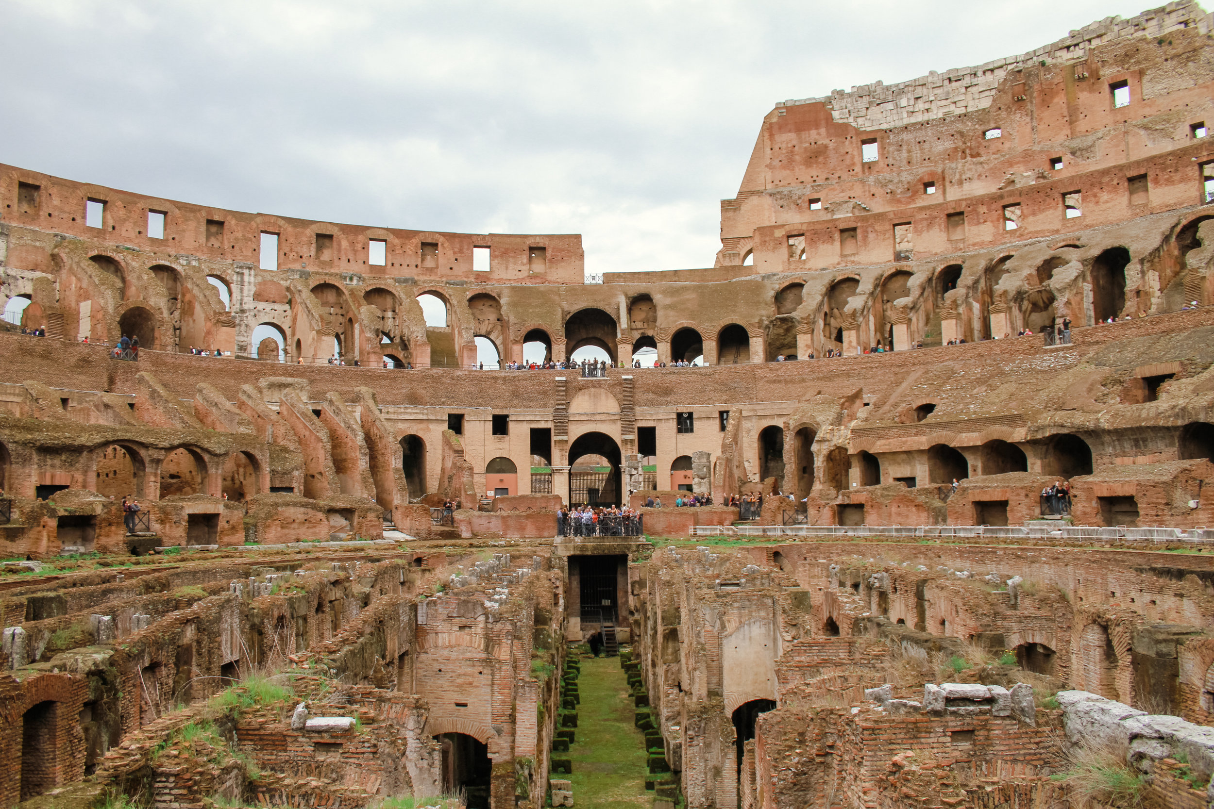 The Colosseum is one of Rome's greatest places to visit.