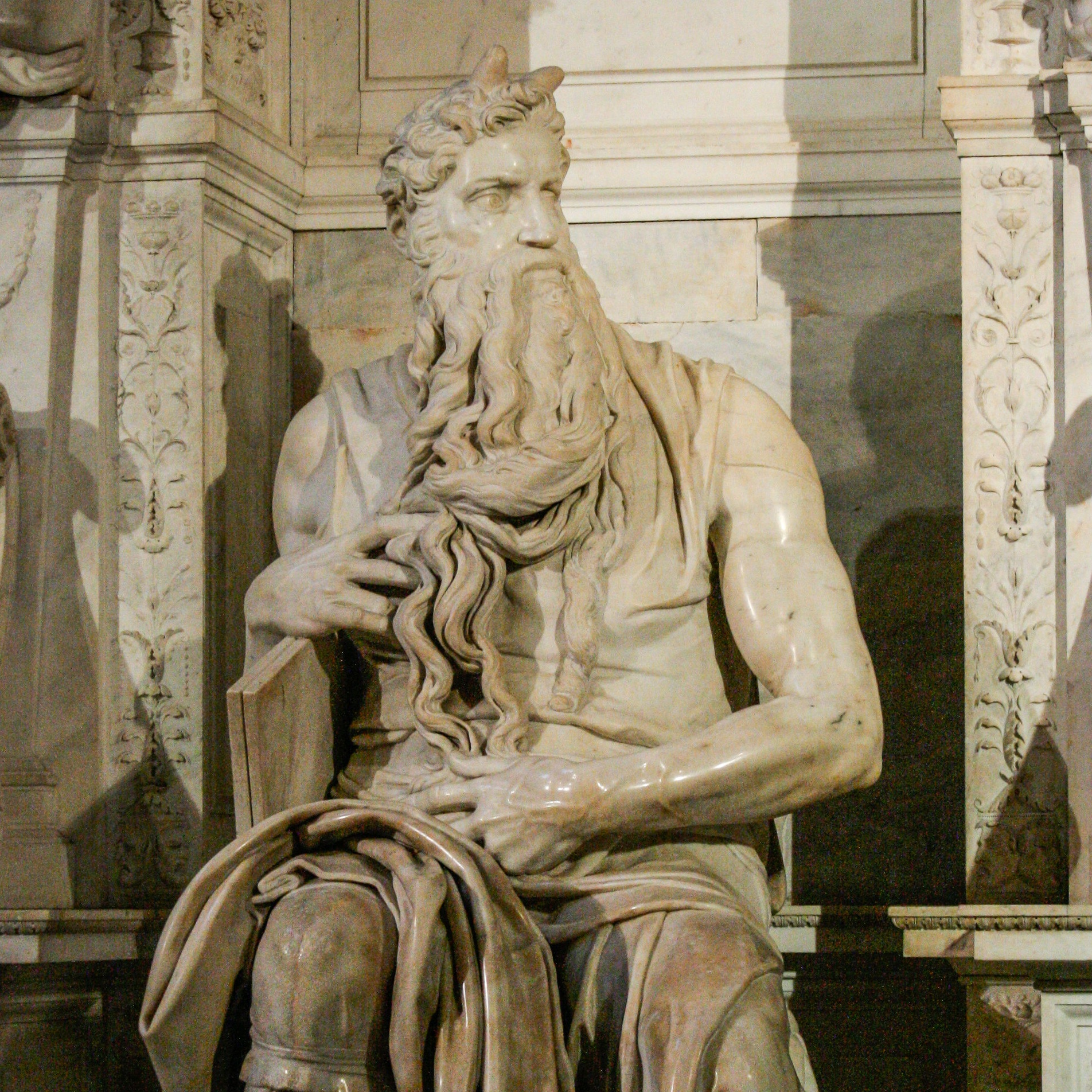 Michelangelo's Moses at San Pietro in Vincoli