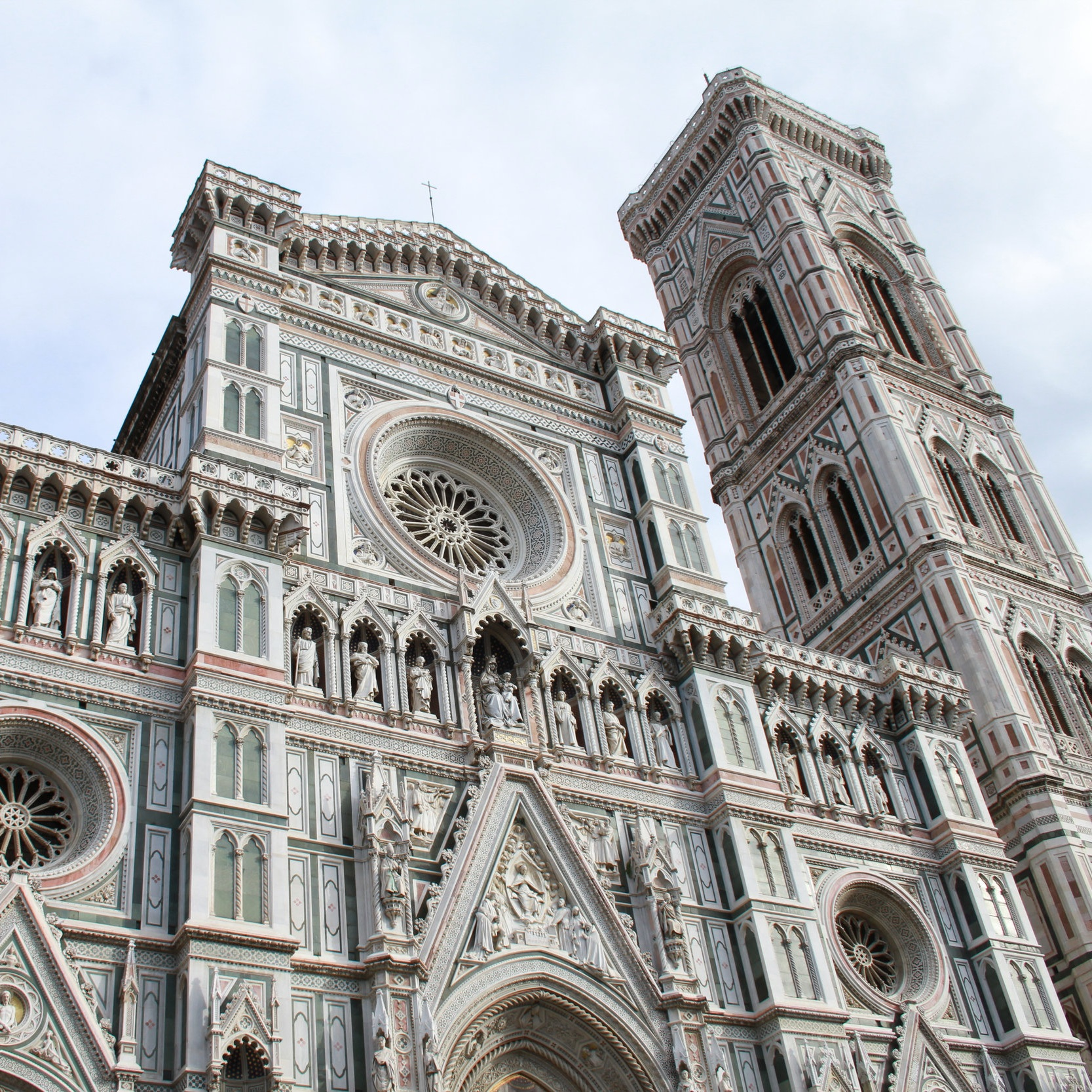 The Duomo in the heart of Florence