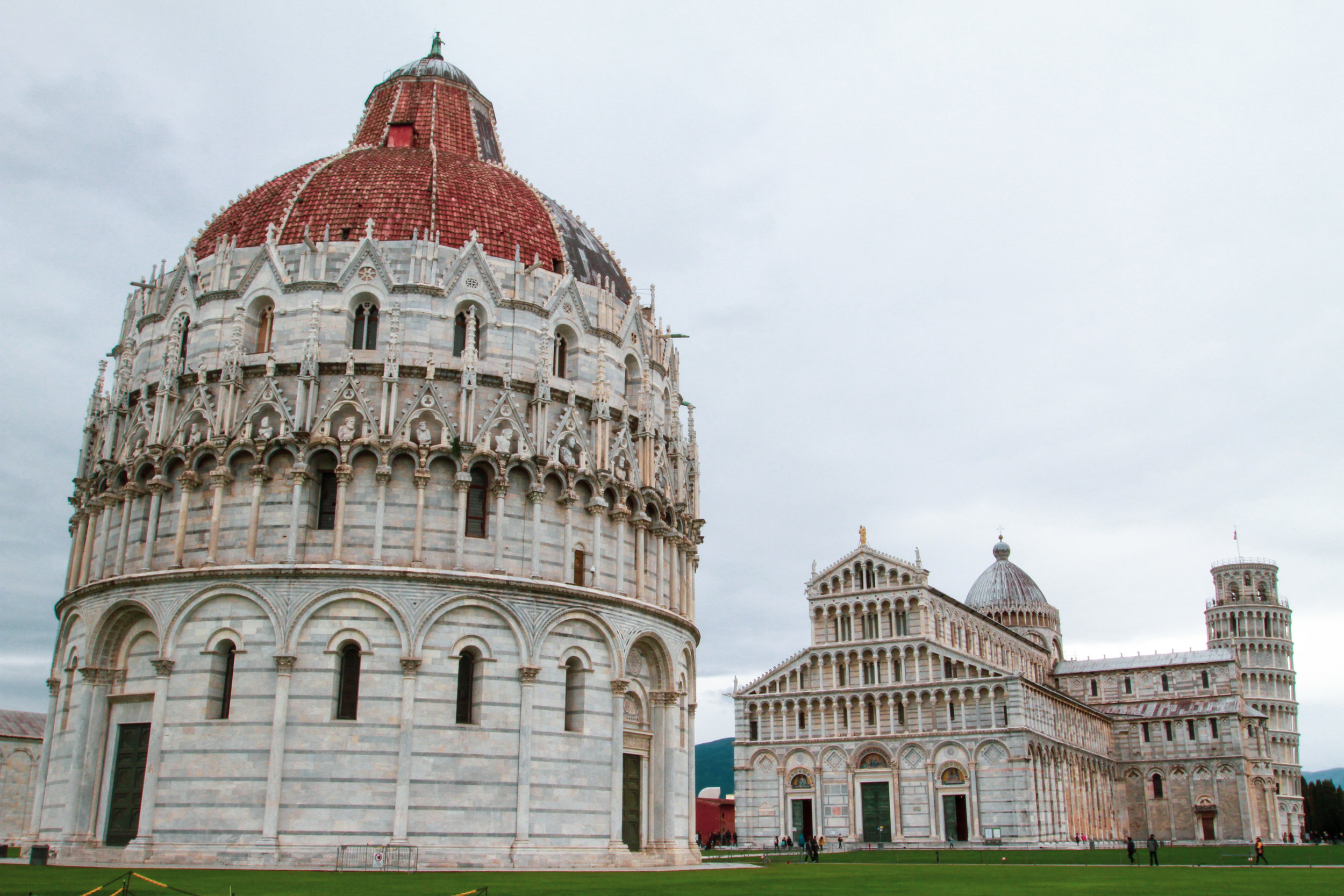 pisa cathedral baptistry tower
