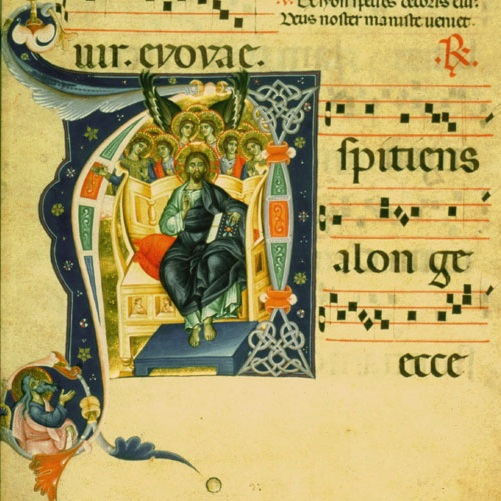 Illuminated manuscript created in Florence