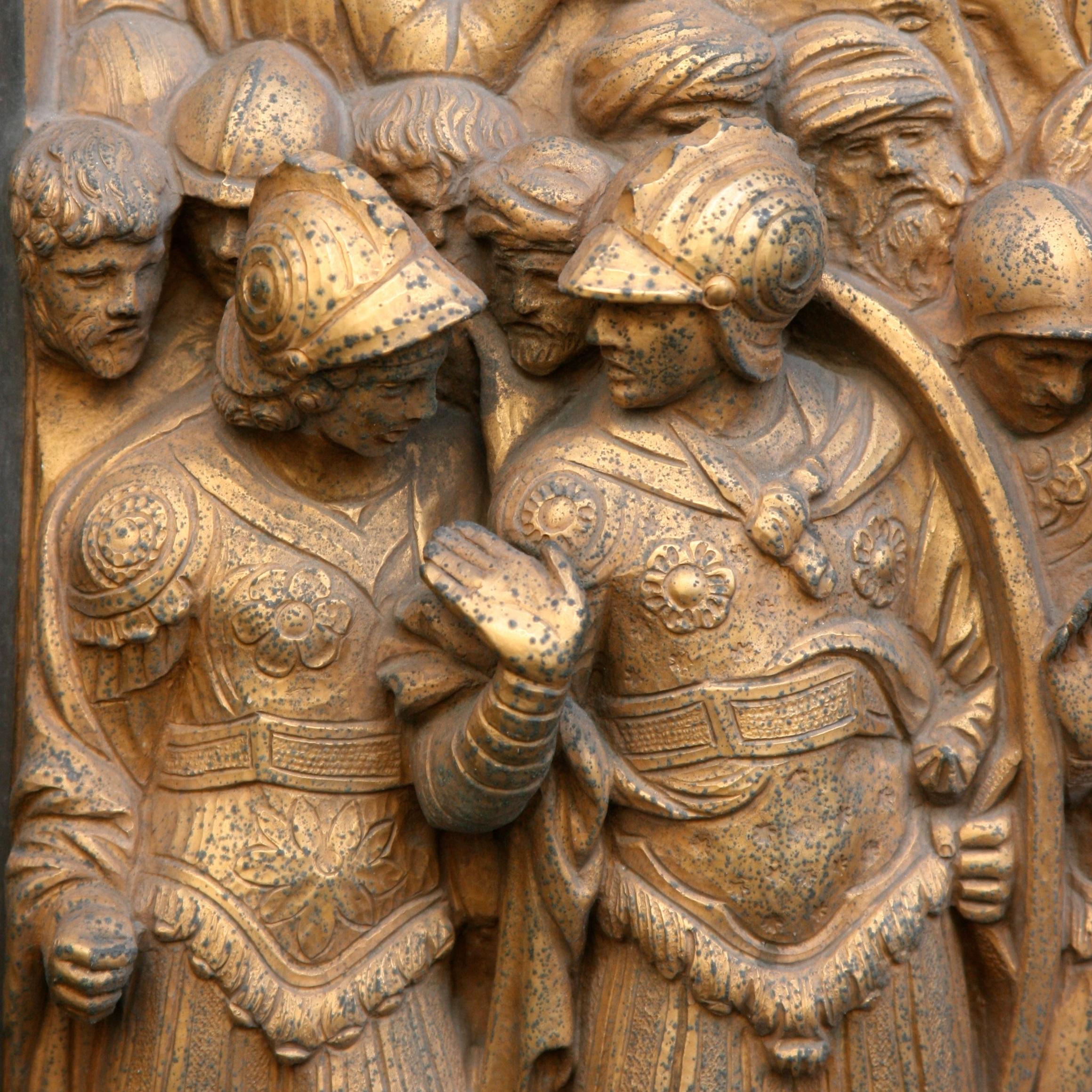 Frieze from Ghiberti's baptistry doors