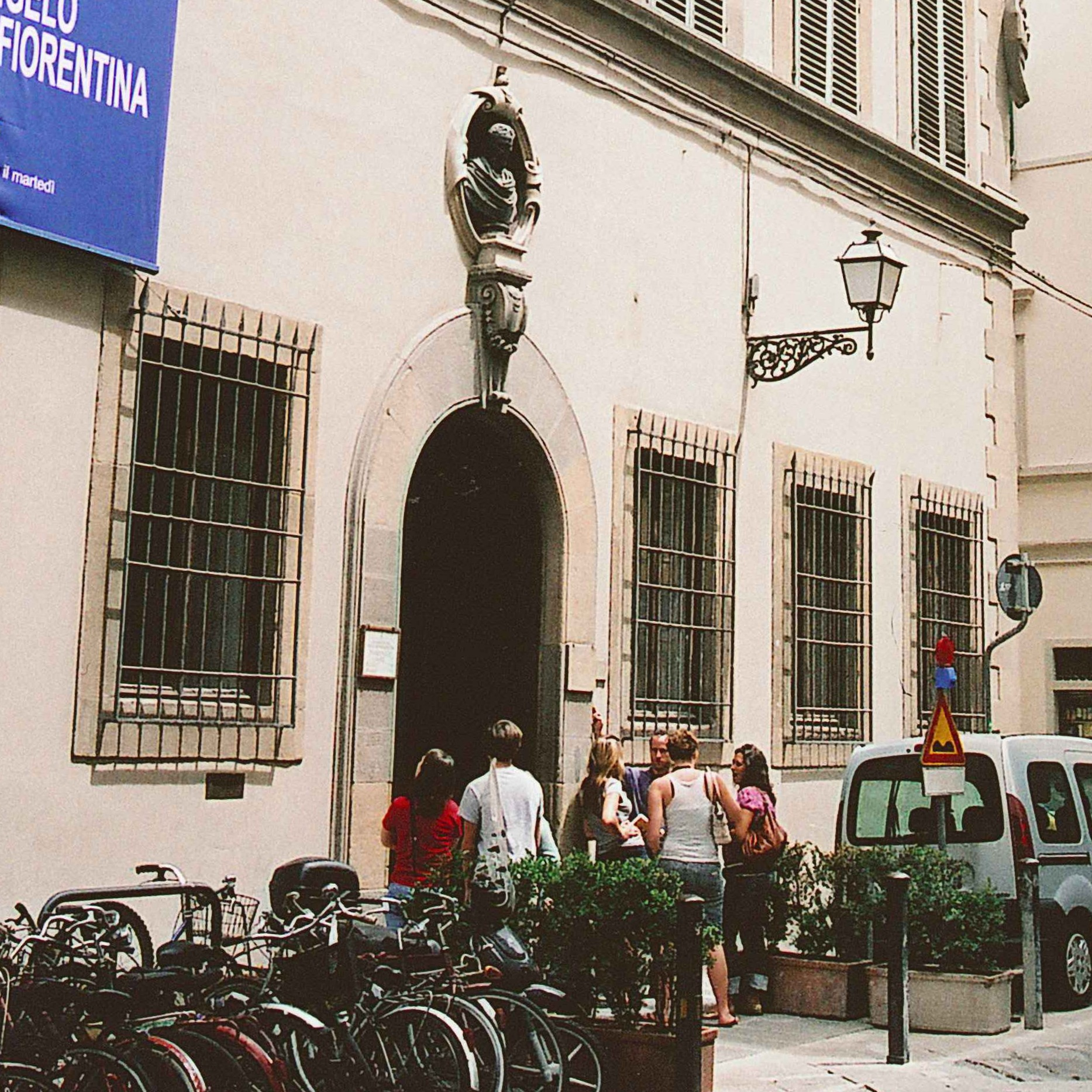 Casa Buonarroti, a small museum dedicated to Michelangelo's early works