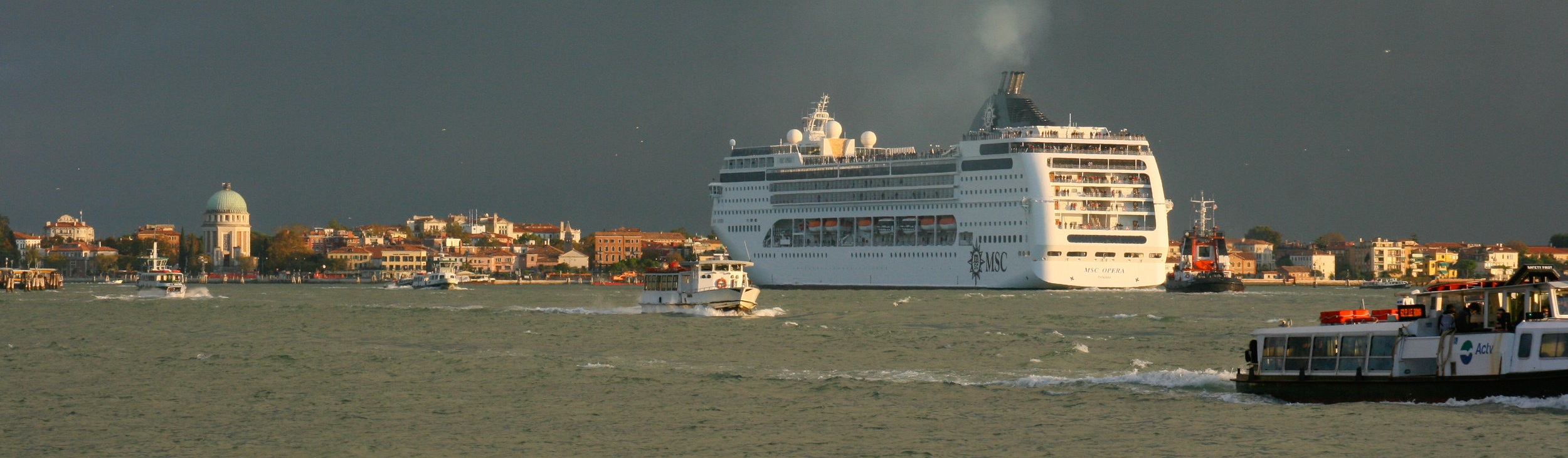 MSC Opera in Venice several years ago