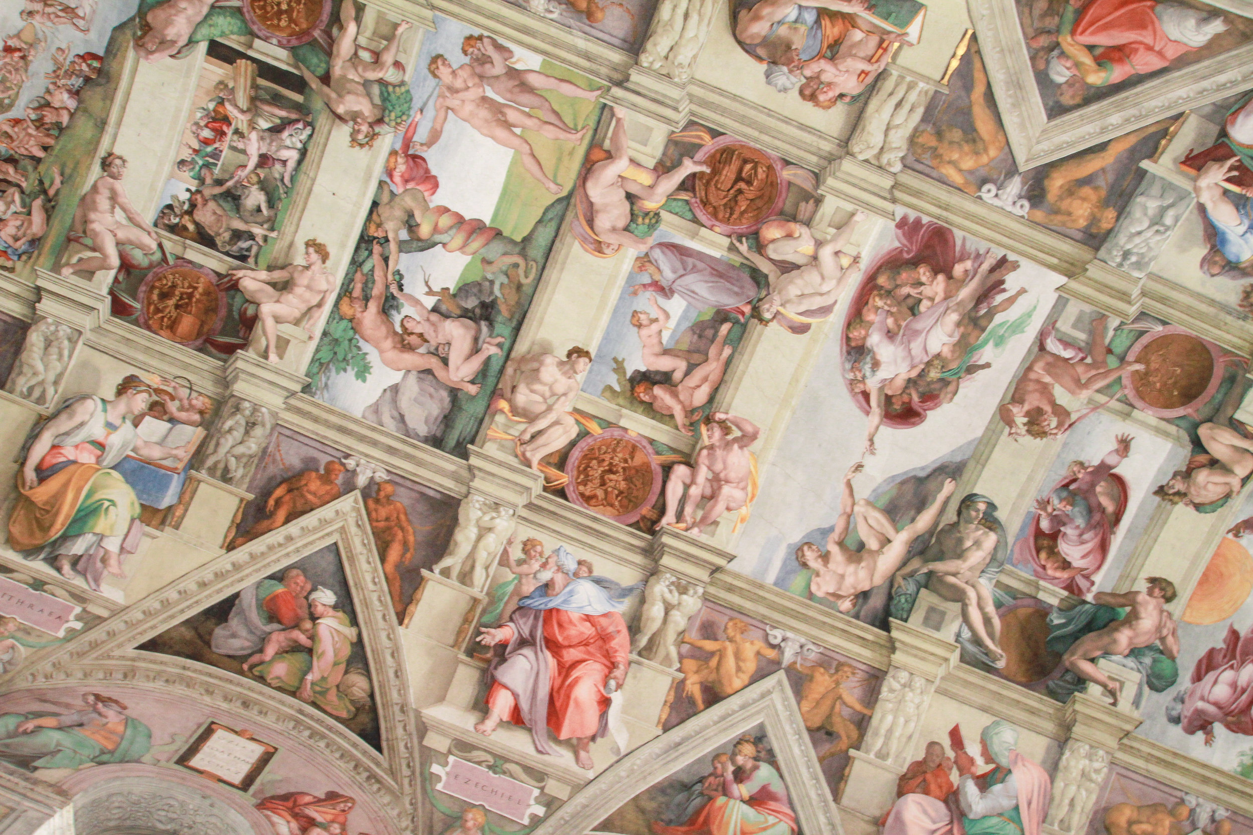 Michelangelo and the Sistine Chapel - To buy tickets, visit the box office: