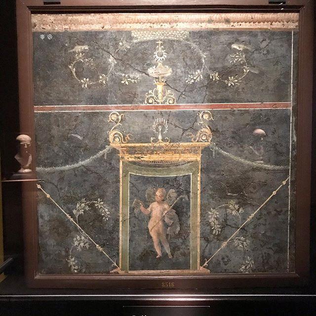 Fresco of Cupid   Pompeii, Italy   c. 70 CE