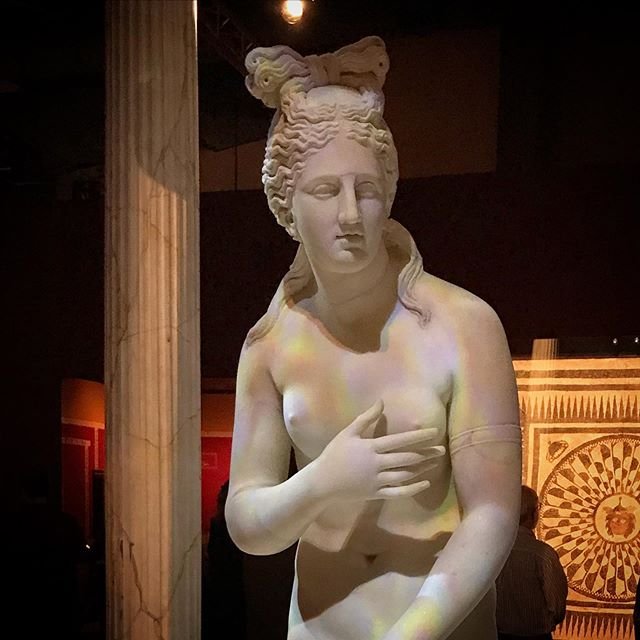 Venus   Pompeii, Italy   79 CE Venus is the goddess of love, beauty, desire, and fertility, and Pompeii was home to a major temple of Venus. Venus frequency appears in art throughout Pompeii.
