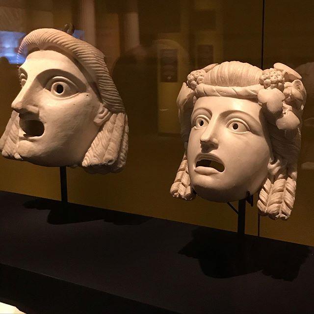 Theatrical Masks   Pompeii, Italy   79 CE