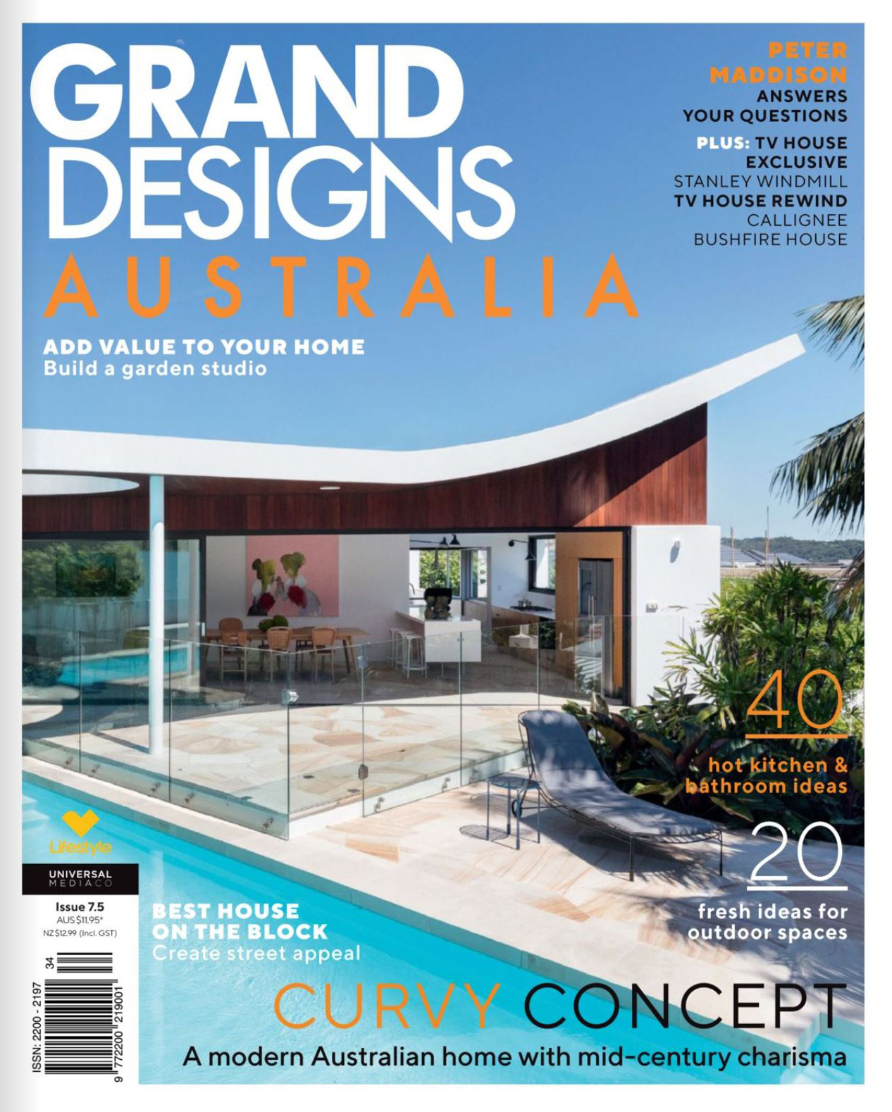 THIS PROJECT IS FEATURED IN GRAND DESIGNS AUSTRALIA MAGAZINE, ISSUE 7.5 NOVEMBER 2018 ON PAGE 144