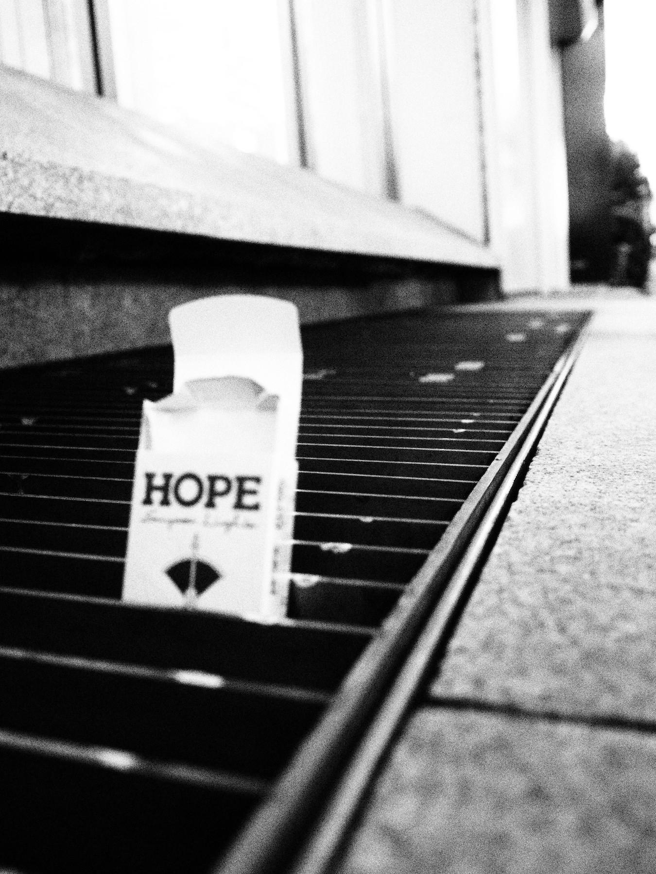 希望/Hope.  Taken somewhere in Tokyo.