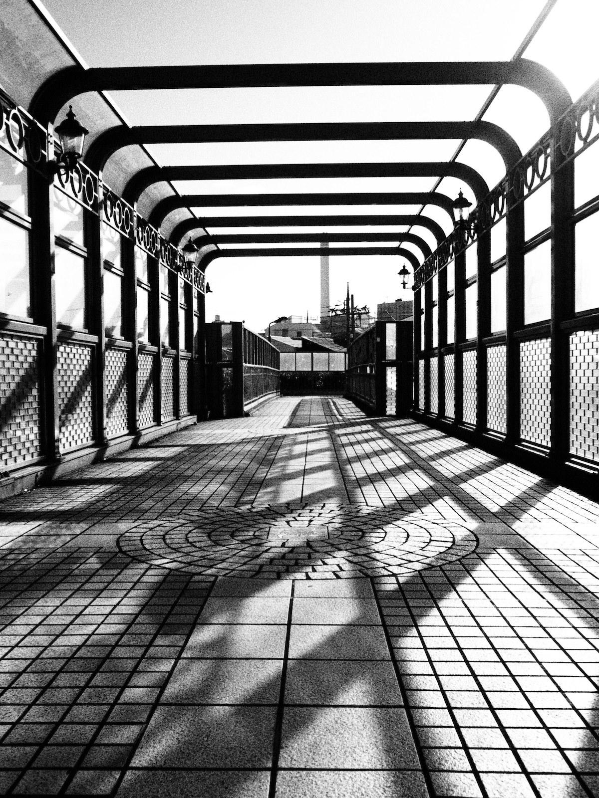 Bridge in Ebisu, Tokyo.