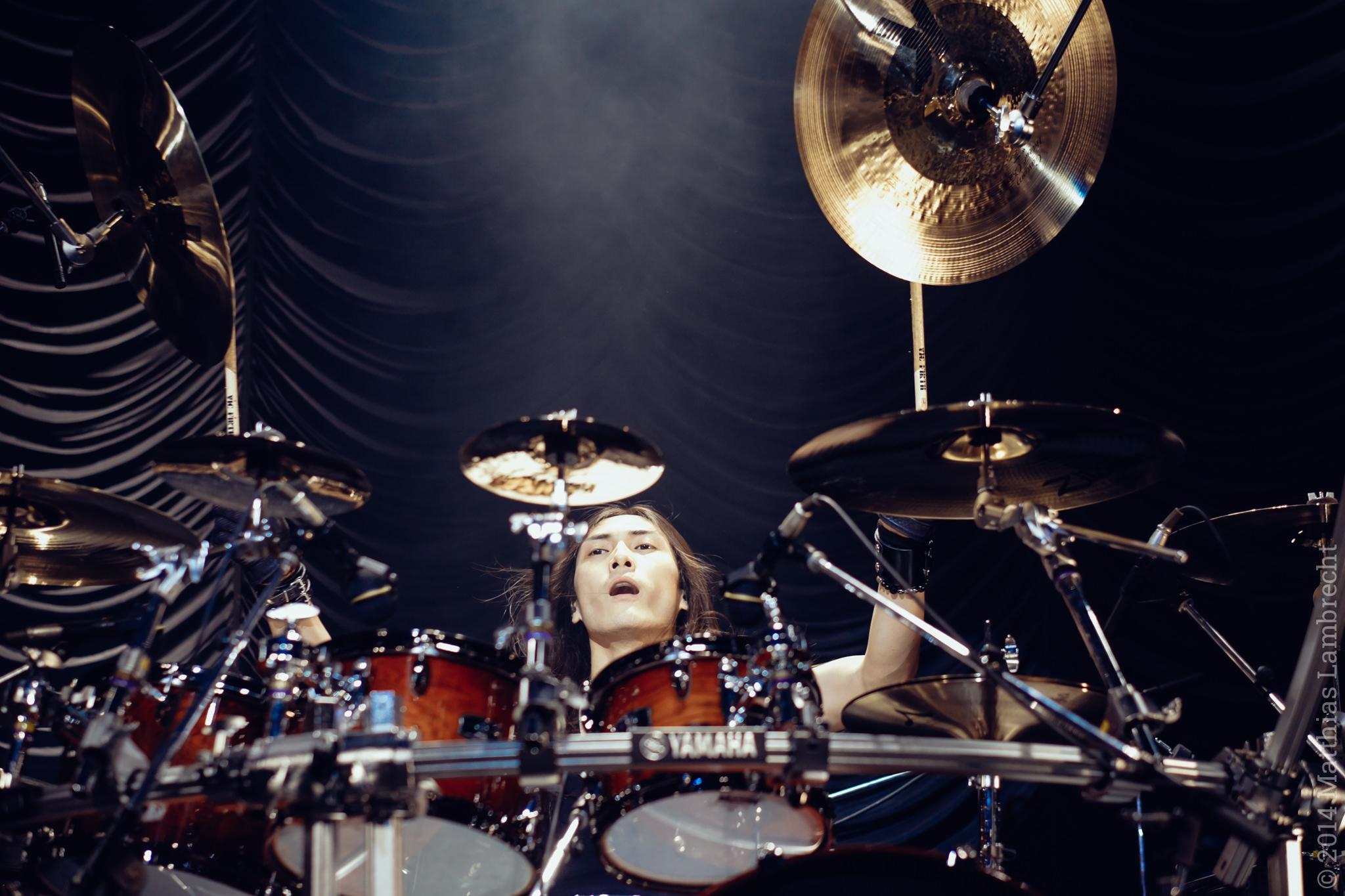 Yosuke. Don't forget the drummer, they said. (Fujifilm X-T1 + Fujinon XF 56mm)