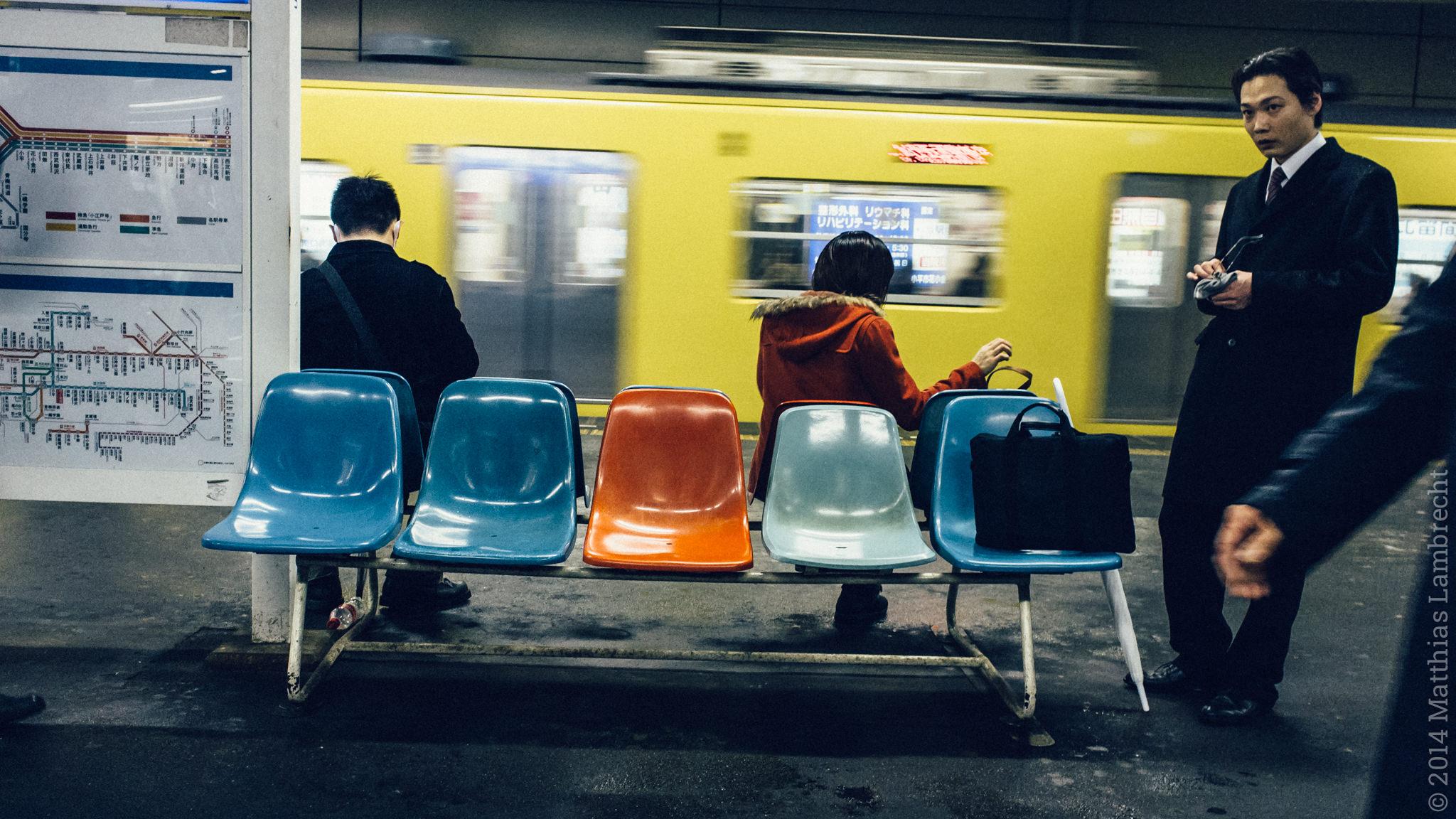 commuters・通る人 (i)