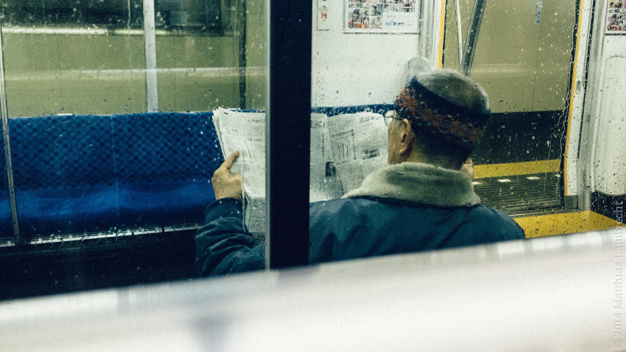 commuters・通る人 (iii)