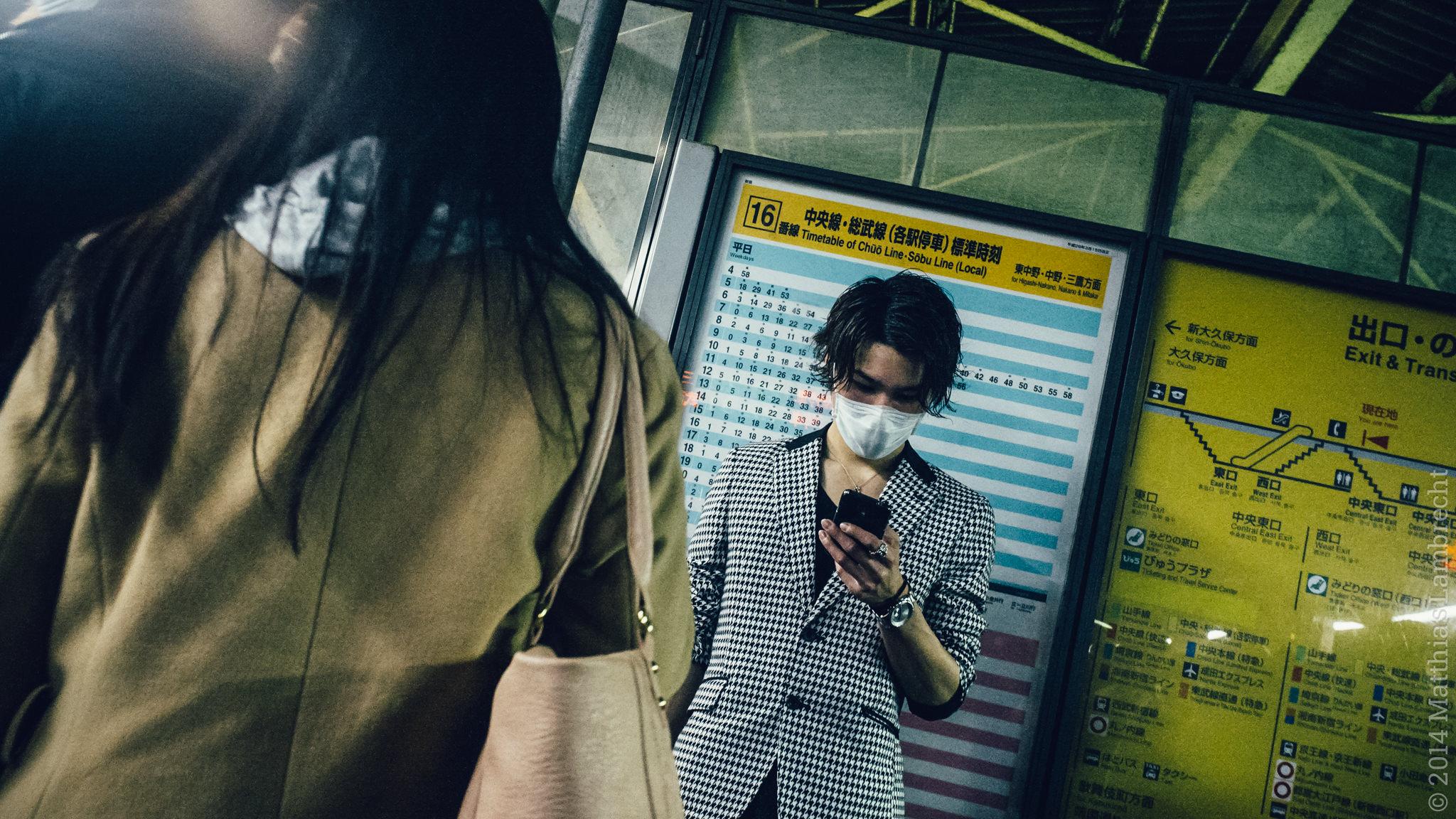 commuters・通る人 (viii)