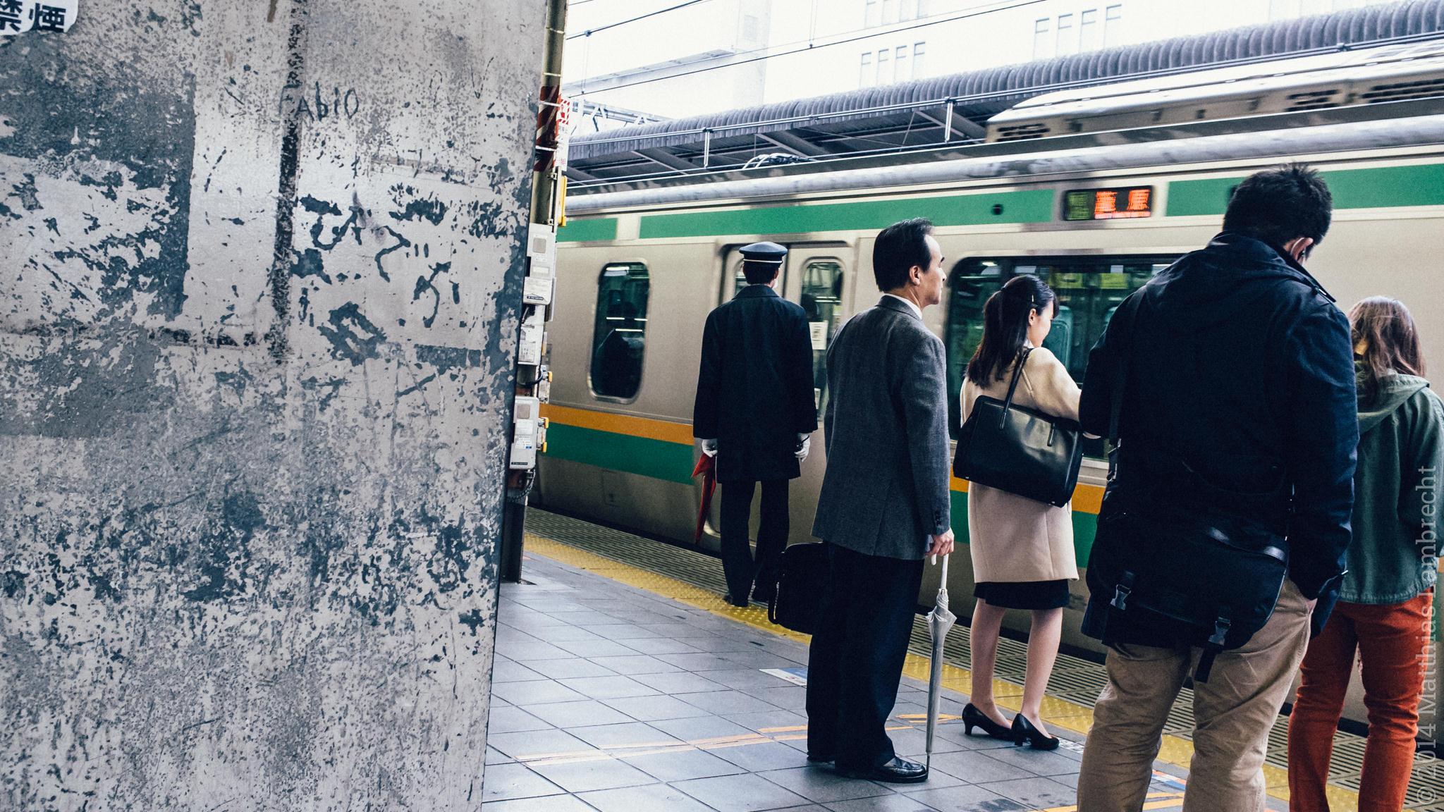 commuters・通る人 (ix)