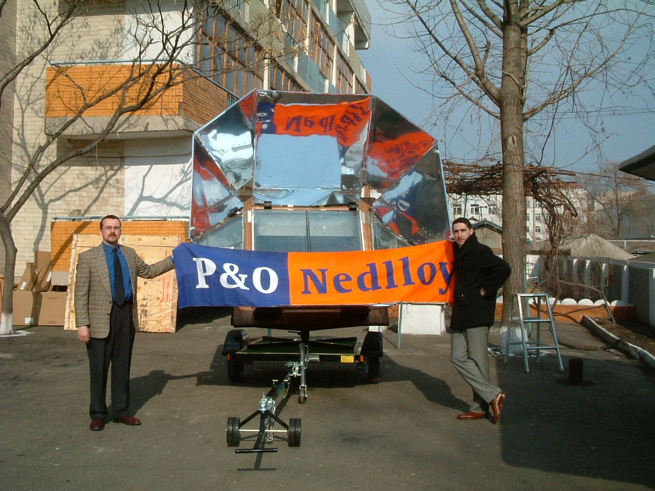 P&O Nedloyd was a generous sponsor for our first Sun Oven project