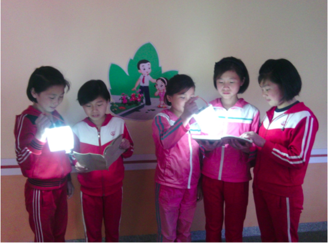 Haeju Orphans Reading Books.png
