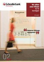 Stiftungsbrief Schoellerbank