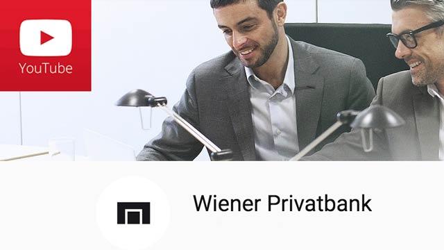 YouTube-Channel der Wiener Privatbank