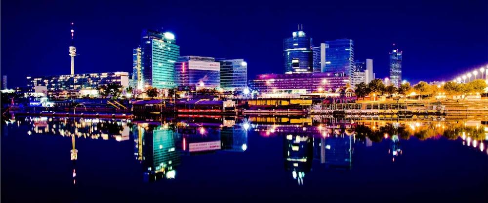 Wien-Nachtpanorama