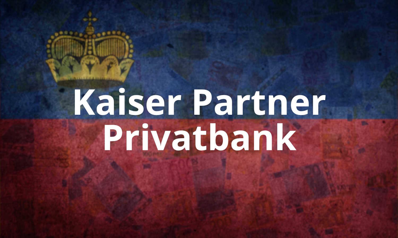 Responsobility in Wealth - Die Kaiser Partner Privatbank ist eine der führenden Vermögensberatungsgruppen in Familienbesitz. Die Wurzeln reichen bis ins Jahr 1931 zurück, der Hauptsitz liegt in Vaduz im Fürstentum Liechtenstein.