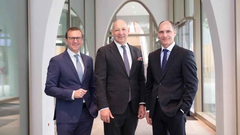 Der Vorstand: Christian Nemeth, Hermann Wonnebauer (Vorsitzender), Michael Walterspiel