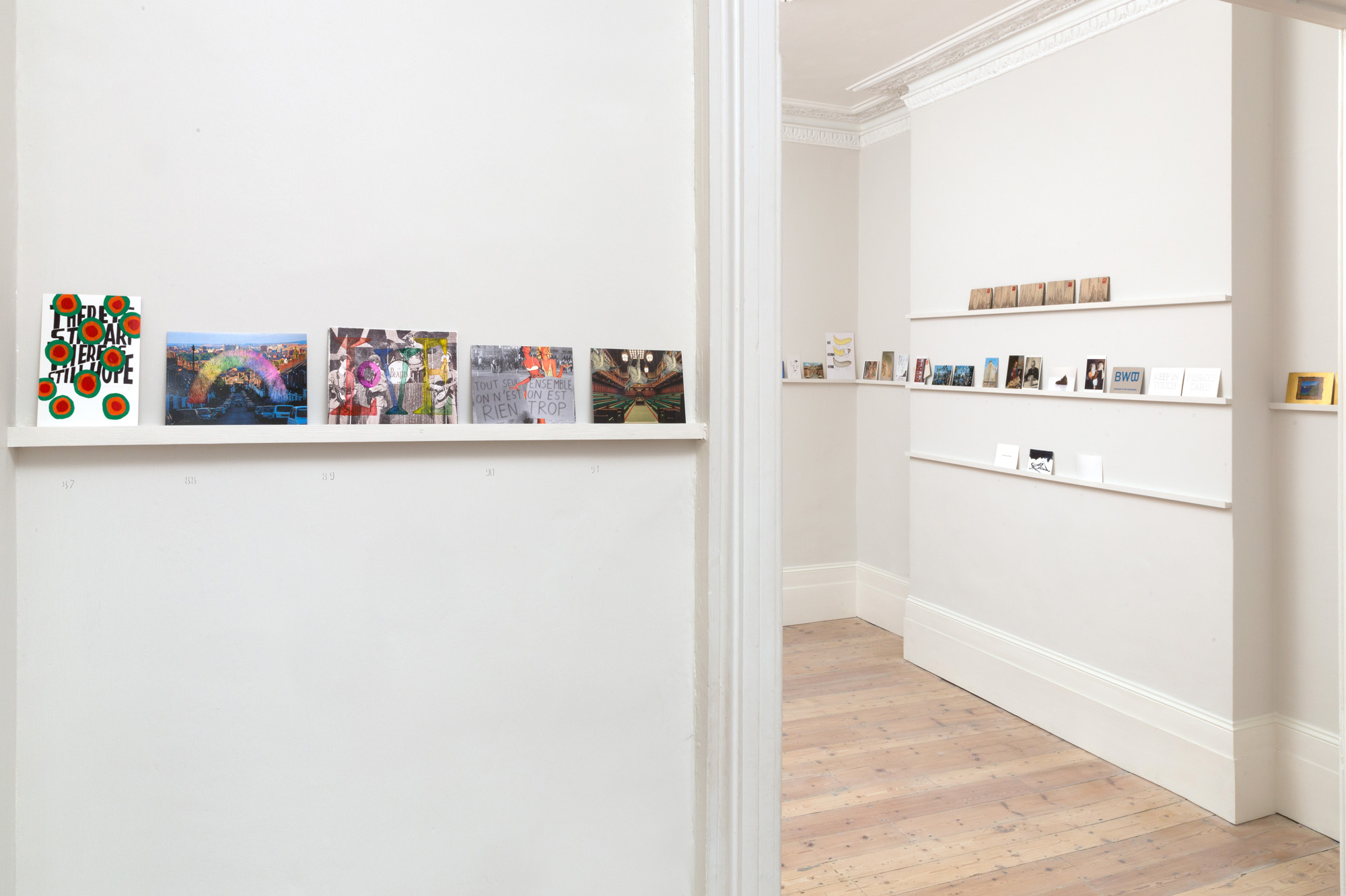 Art of The Postcard, Handel Street Projects, 2017