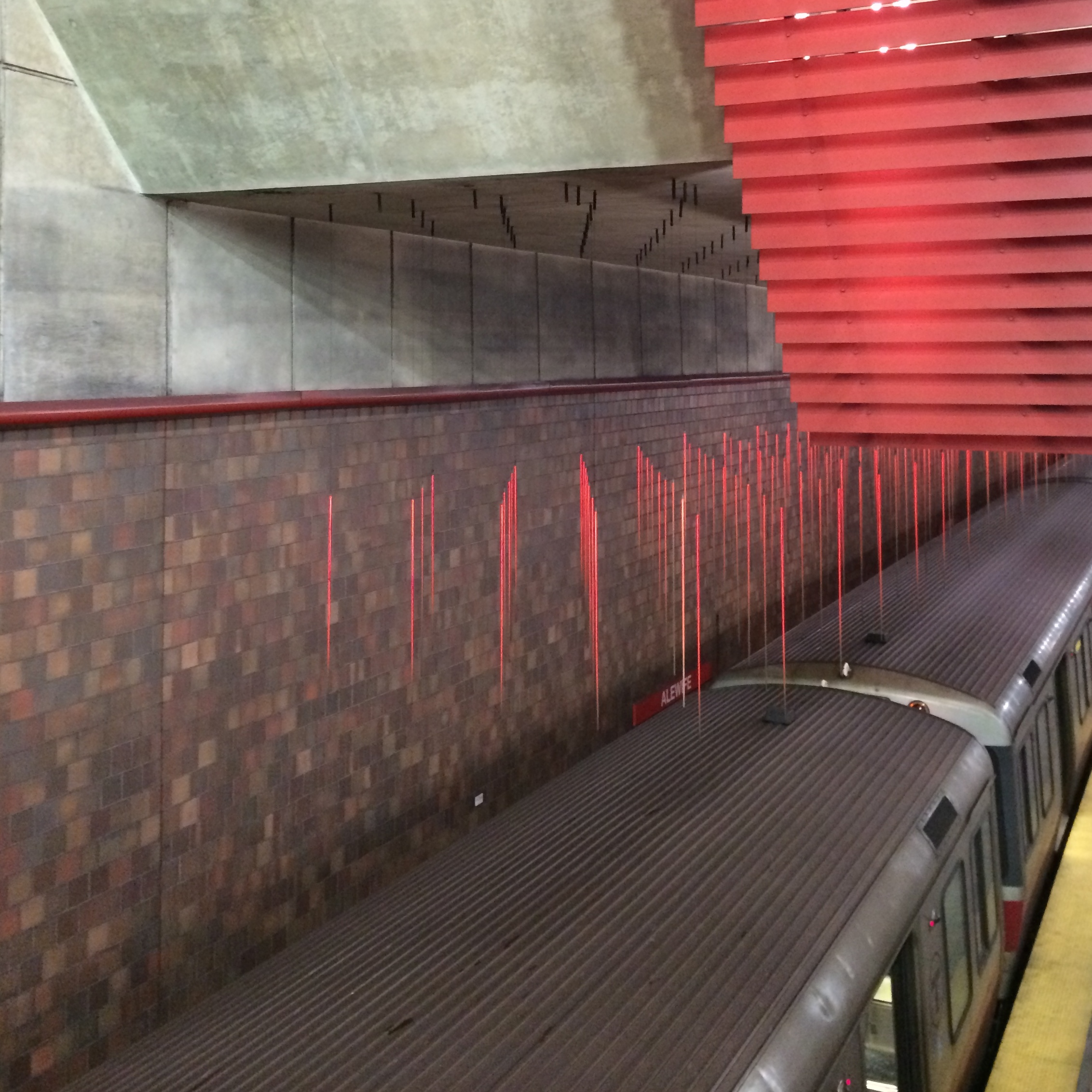 "Alejandro and Moira Sina ""The End of the Red Line"" Alewife Station"