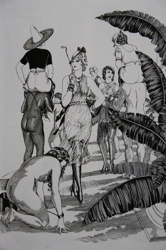 """À Genoux Esclave"""", Paris 1930s Wighead.jpg"""