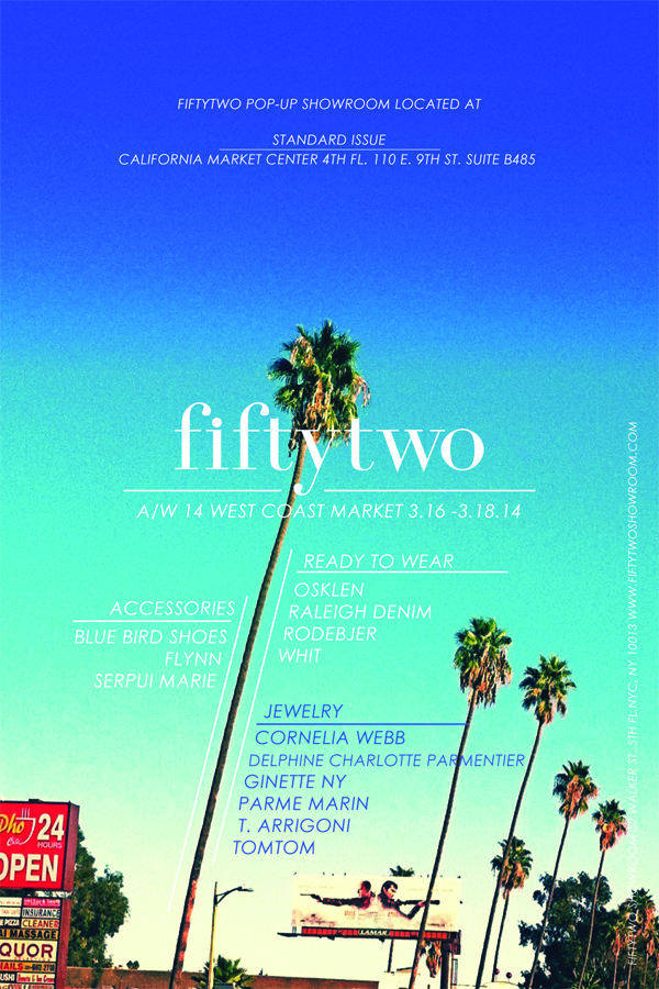 FIFTYTWO SHOWROOM Flyer