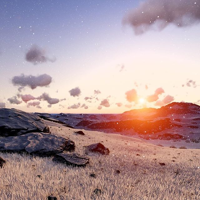 #realorfake #sunset #render #scene #scenery #