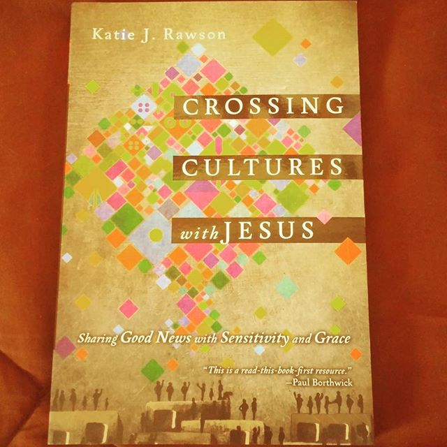 "We at THA are reading ""Crossing Cultures with Jesus""  #bookstagram #books #crossingcultureswithjesus #katiejrawson"