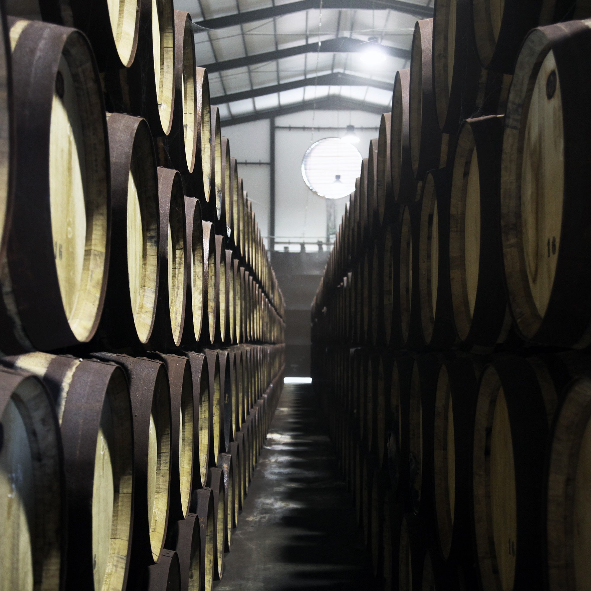 Our whisky casks