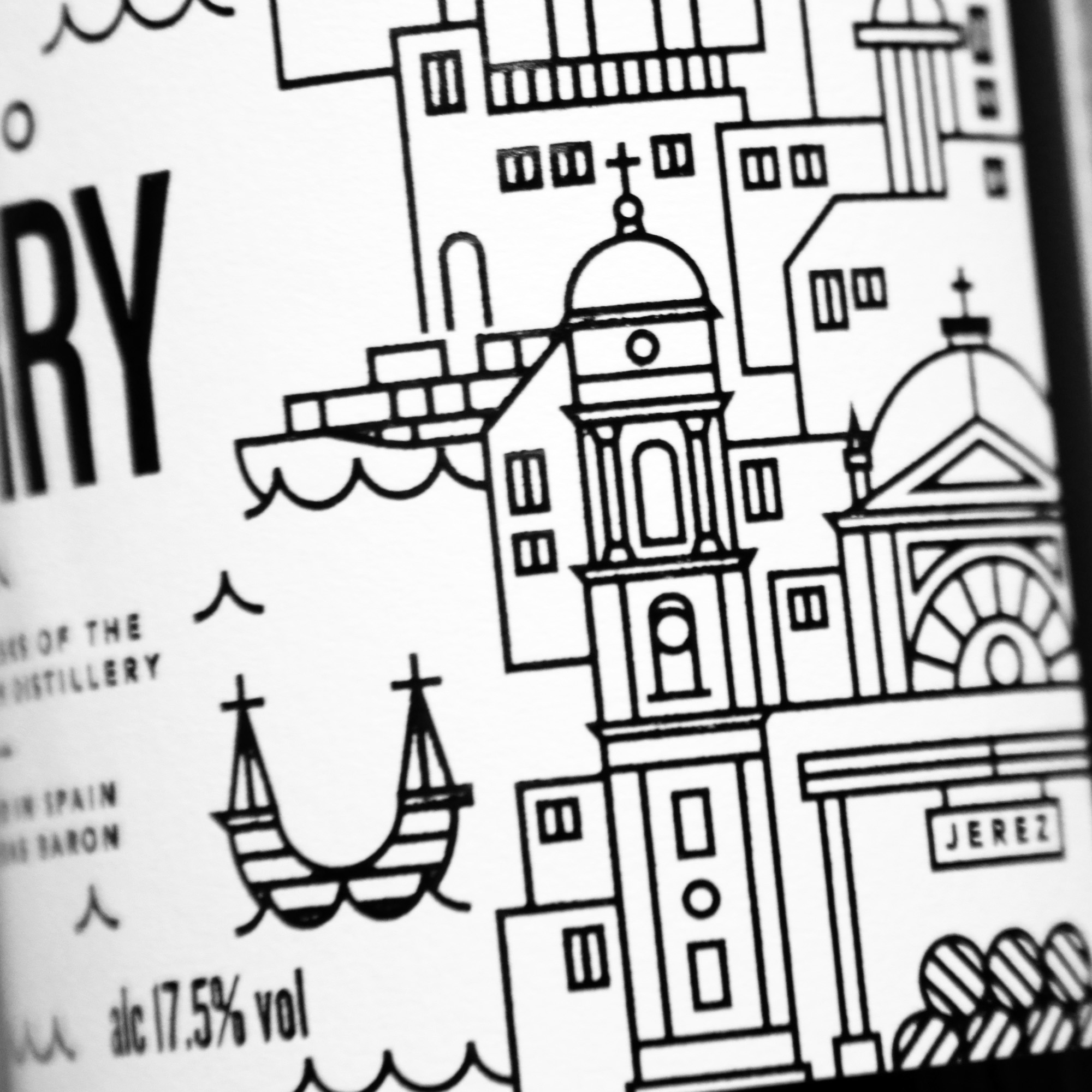 - The wines are then fortified with grape spirit and matured in 'Solera' warehouses in the towns of Jerez and Sanlúcar de Barrameda.