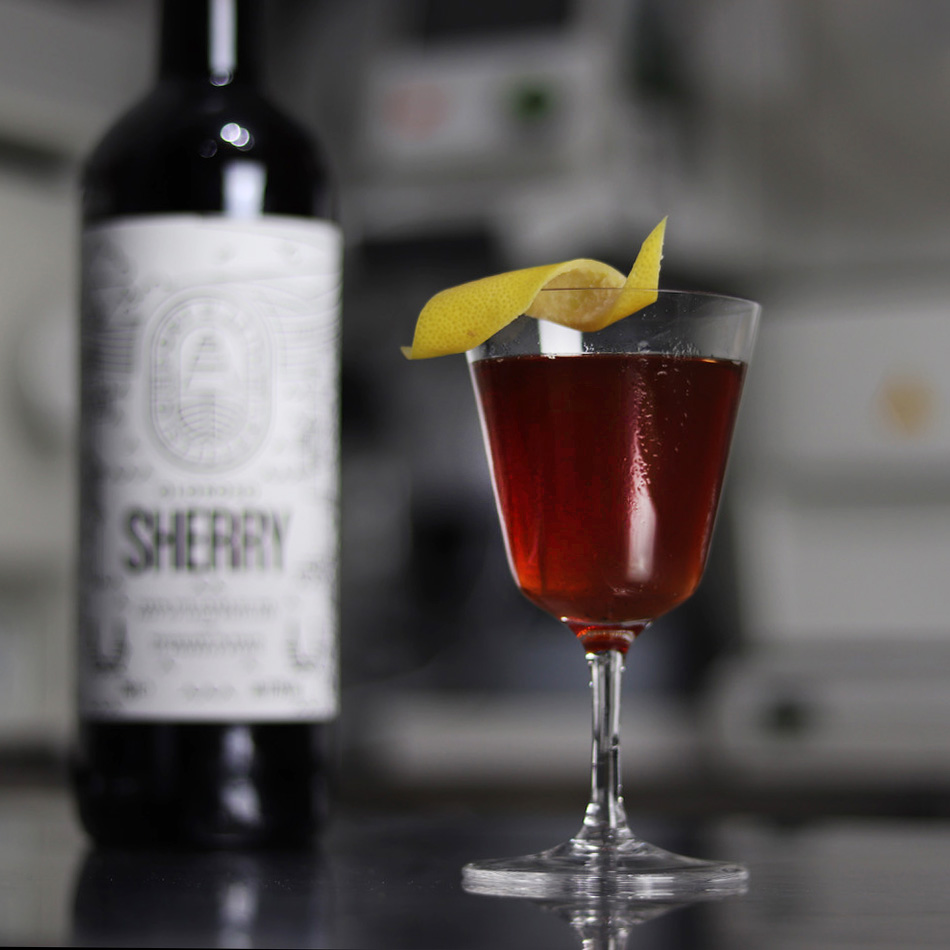Sherry Chaud - Our mulled sherry recipe is a total game-changer for any winter party. Warm gently and serve straight from the pan.45ml Port of Leith Oloroso60ml Thistly Cross Cider10ml Cocchi Vermouth de Torino2.5ml Monin Caramel Syrup5ml Fresh Orange0.63ml 4% Saline Solution
