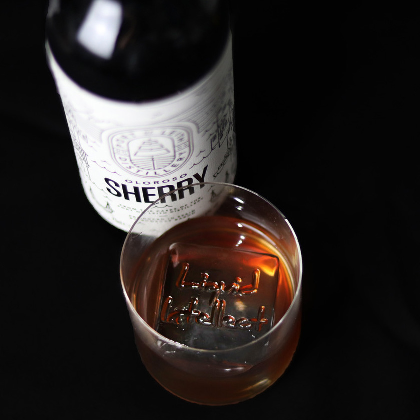 Sherry Old Fashioned - Sherry & whisky love each other, so we mix them together to re-imagine an Old Fashioned.30ml Port of Leith Oloroso Sherry15ml Monkey Shoulder7.5ml Maple Syrup10 Drops Black Walnut Bitters1.25ml Laphroaig Quarter Cask
